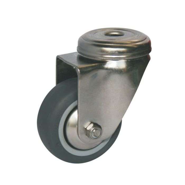 Bolt Hole Fitting Castor SS - 60mm - Accessories - OnEquip