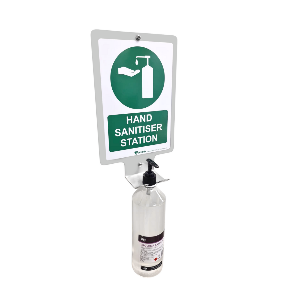 1G.WBS 1Guard Wall Bracket With Sign (2)