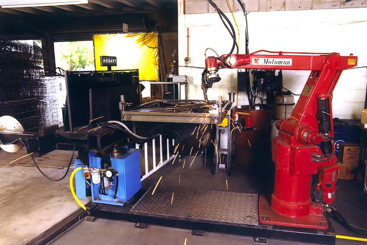 NZ's First MIG Welding Robotic System
