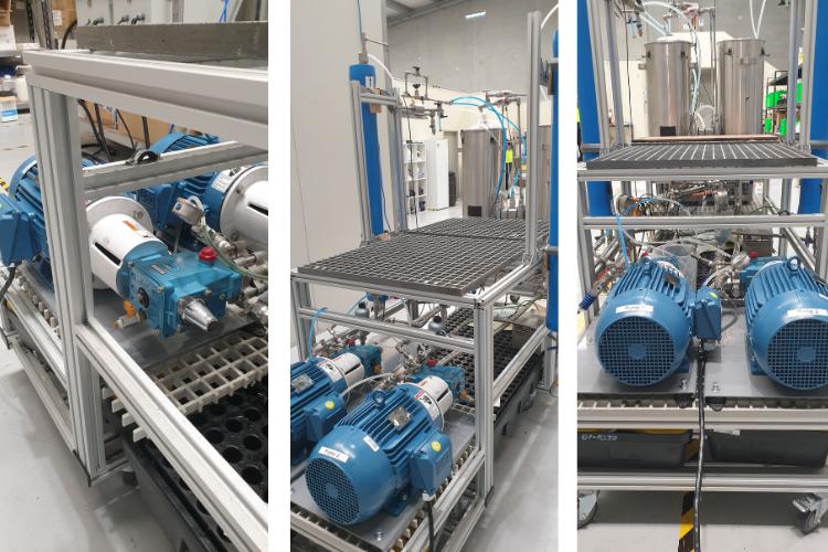 SlotPro Zero Liquid Discharge Testing Rig