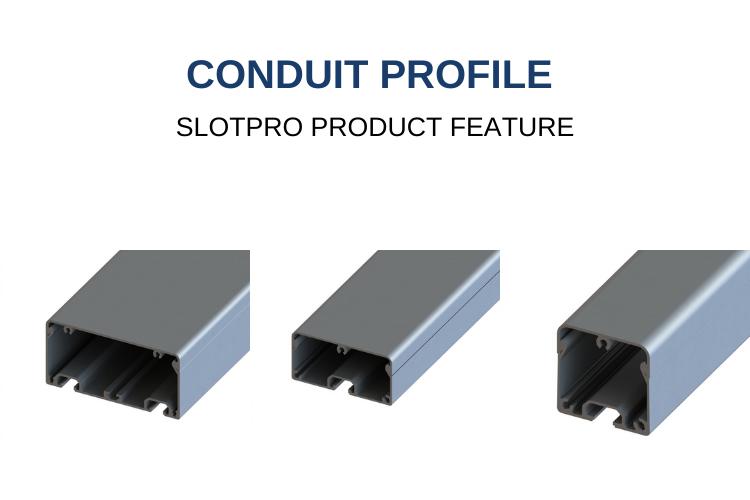 Slotpro Conduit Profile
