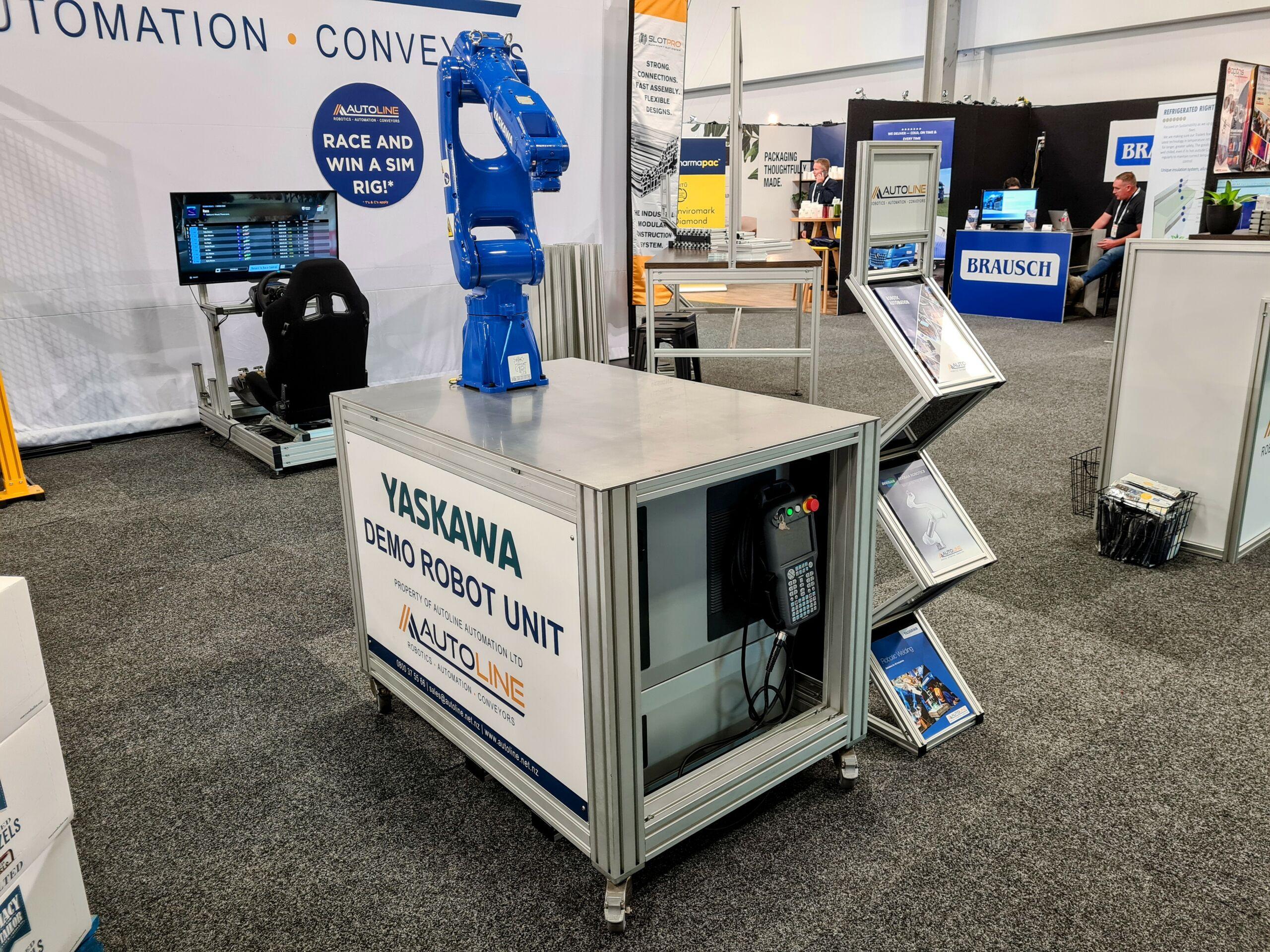 Yaskawa demo robot unit   Autoline