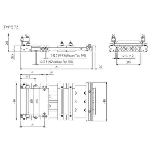 Maxi Series 3 Cylinders Type TZ