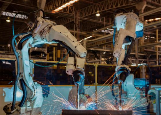 OTC Daihen Robot Welding