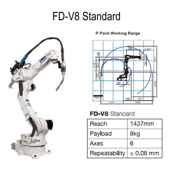 OTC Daihen V8 Robot