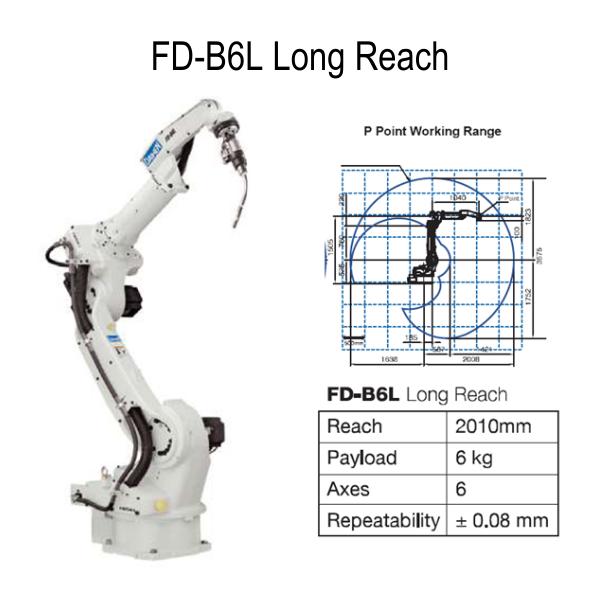 OTC Daihen B6L Robot